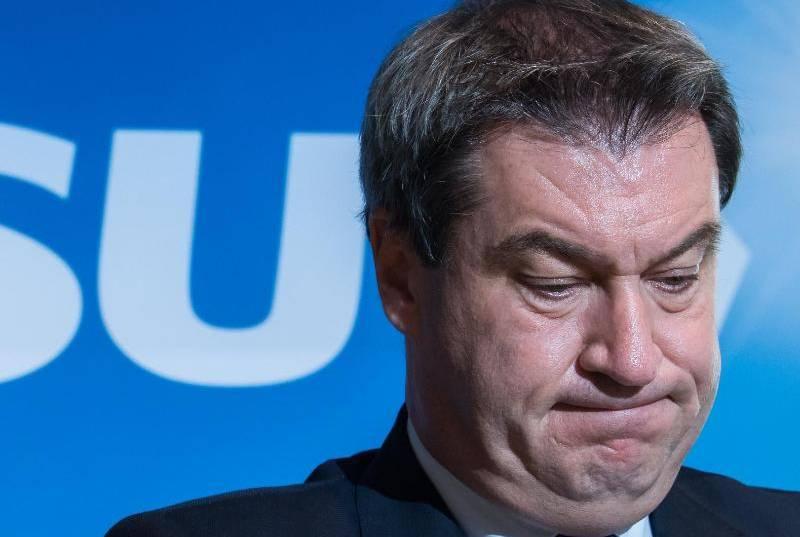 Лидерът на Християнсоциалния съюз (ХСС) на Бавария Маркус Зьодер заяви,