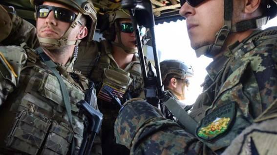 Над 400 военнослужещи, бойна и спомагателна техника от състава на