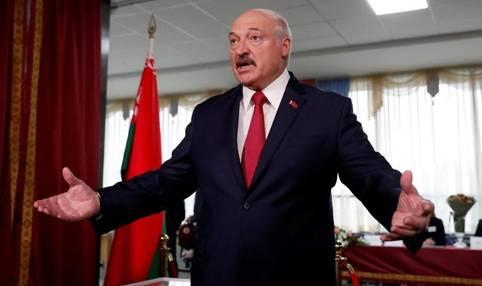 Президентът на Беларус Александър Лукашенко обяви днес, че е задържана
