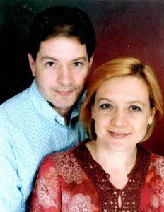 Семейството руски нелегали в САЩ Елена Вавилова и Андрей Бузруков.