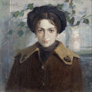 """""""Дамски портрет"""" (Брашлян), второто десетилетие на XXв."""