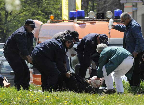 """Георги Стоев е откаран жив от мястото на стрелбата, но в """"Пирогов"""" издъхва след няколкочасова операция."""
