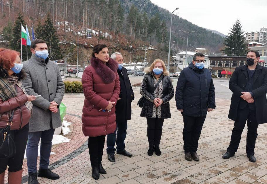 Разчитаме на вашата подкрепа, защото пътят, по който водим България,