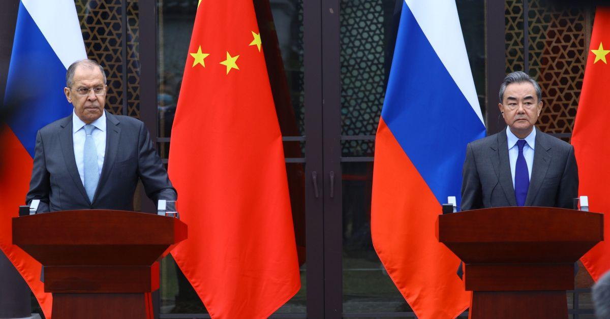 Министрите на външните работи на Руската федерация и Китайската народна