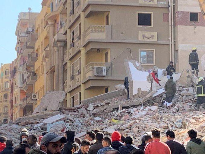 Броят на загиналите при срутването на деветатажен жилищен блок в