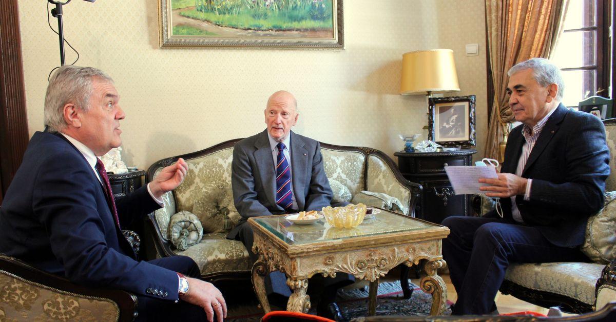 Председателят на ПП АБВ Румен Петков се срещна със Симеон