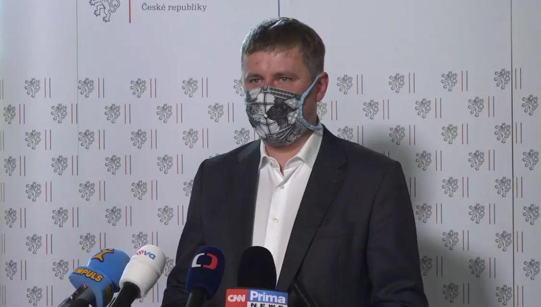 Чешкият министър на външните работи Томаш Петържичек, който се противопостави