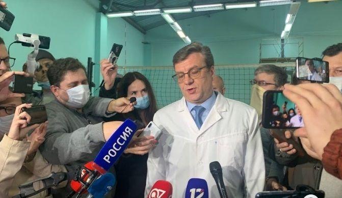 Министърът на здравеопазването на Омска област Александър Мураховски, който изчезна