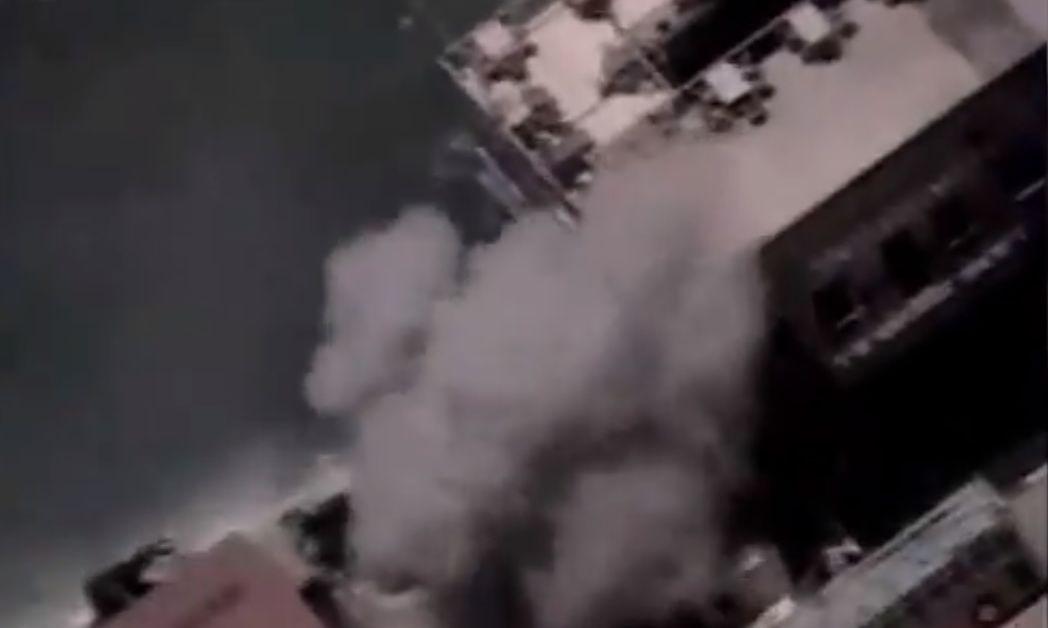 Кораб на ВМС на Израел и безпилотен летателен апарат удариха
