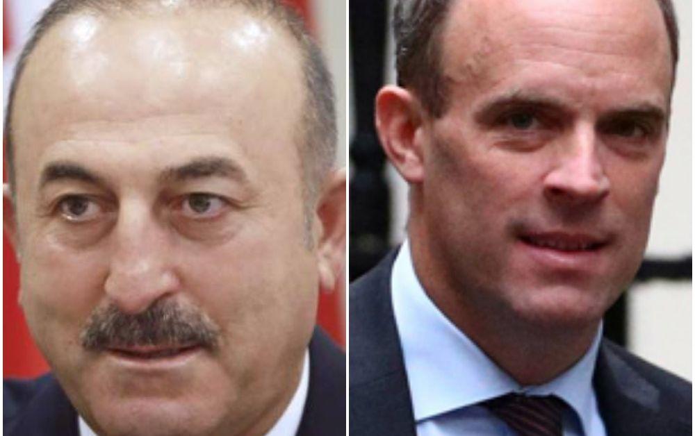 Турският външен министър Мевлют Чавушоглу е разговарял днес по телефона