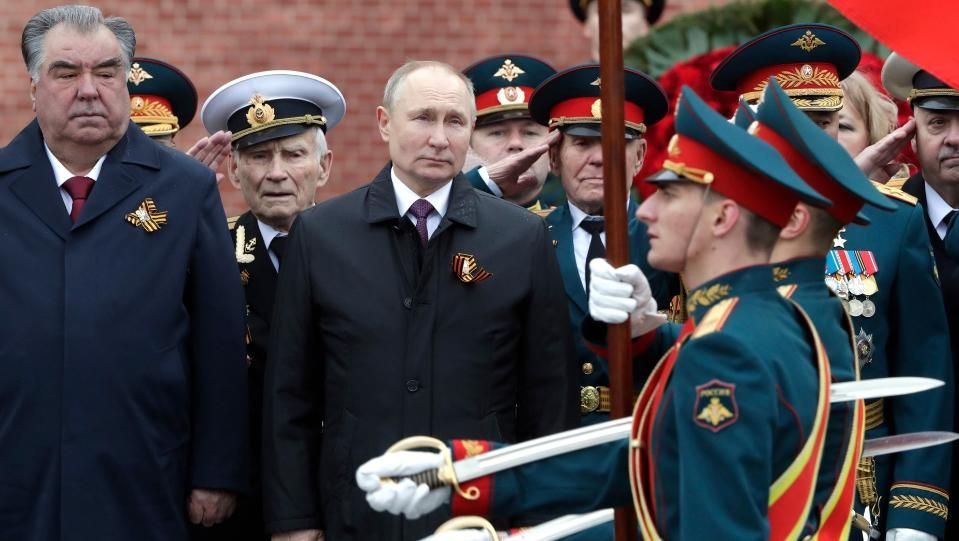 Денят на победата бе отбелязан с парад в Москва12 000