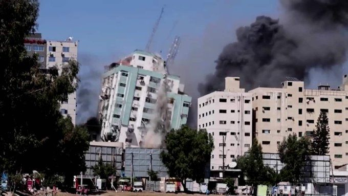 Палестински радикали от Ивицата Газа са изстреляли 55 ракети за