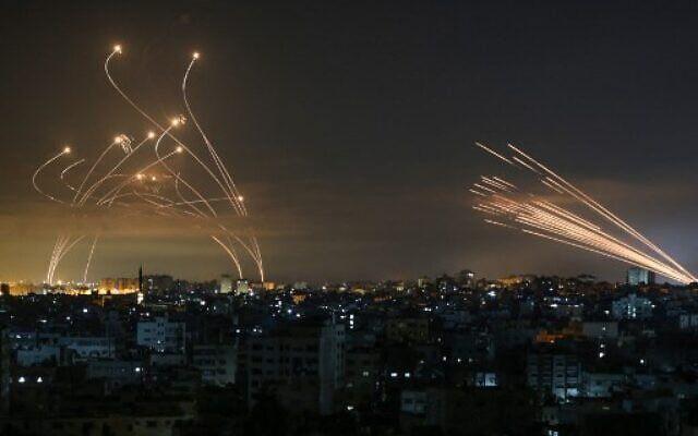 Обстрелът, предприет от палестинското движение