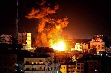 Израелската армия нанесе тази нощ десетки удари в ивицата Газа,