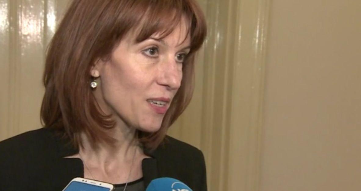 Председателят на Централната избирателна комисия Камелия Нейкова заяви, че първото