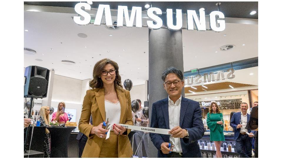 На 10 юни в София, втория официален магазин на Samsung