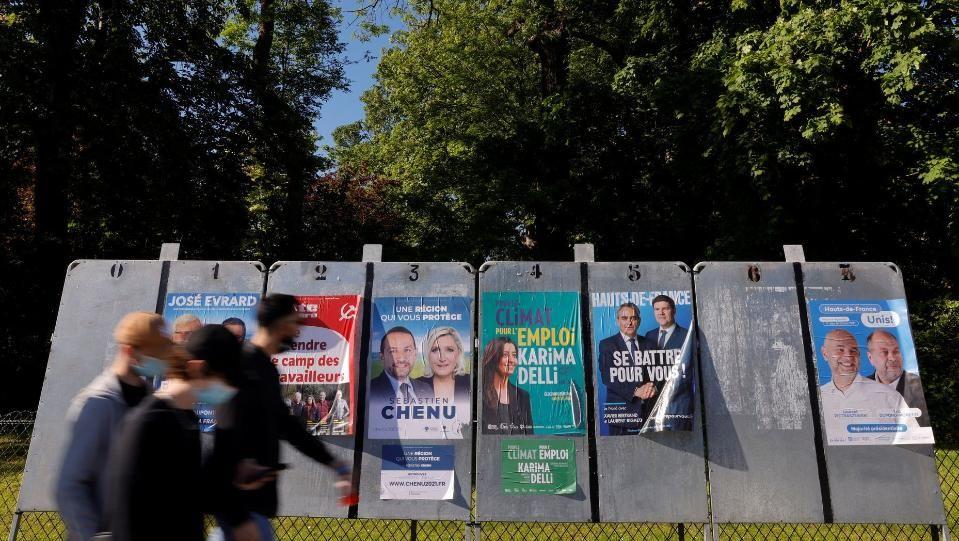 """""""Национален сбор"""" на Льо Пен спечели второто мястоРекордно ниска избирателна"""