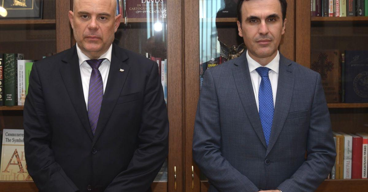 Главният прокурор Иван Гешев се срещна с главния прокурор на