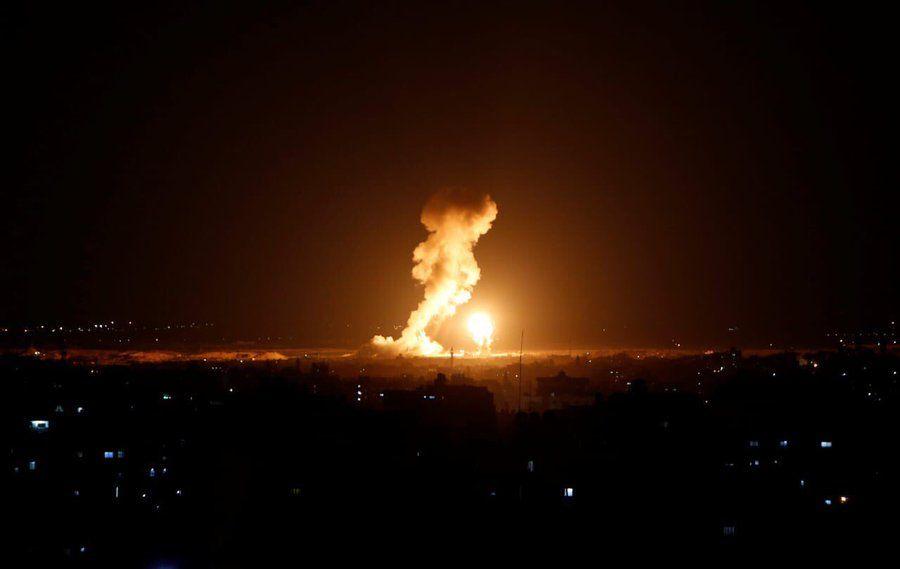 Израелските ВВС са нанесли удари срещу въоръжени позиции на Хамас