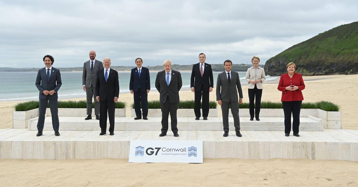 Британският премиер Борис Джонсън посрещна лидерите на страните от Г-7