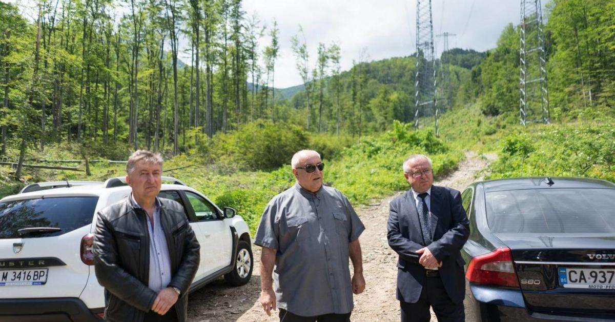 Министърът на околната среда и водите Асен Личев посети община