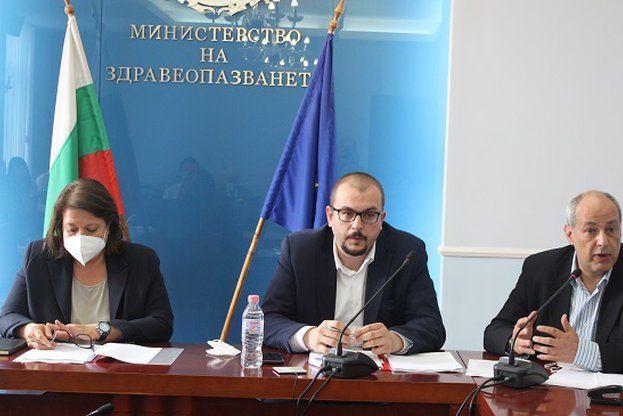 Работна група с участието на представители от експертни медицински съвети
