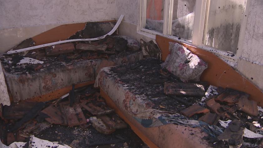 Четири семейства останаха без дом и покъщнина след пожар в