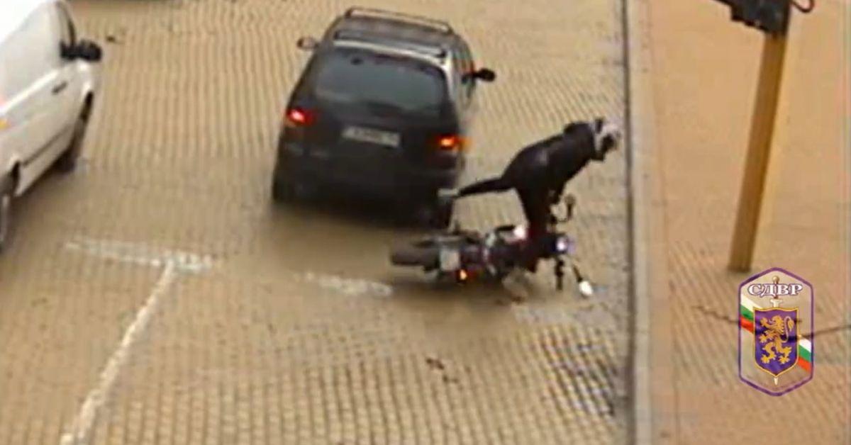 Столичната Пътна полиция публикува видеоклип от катастрофи с участието на