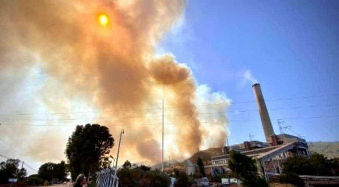 Нов пожар е избухнал днес следобед близо до ТЕЦ в