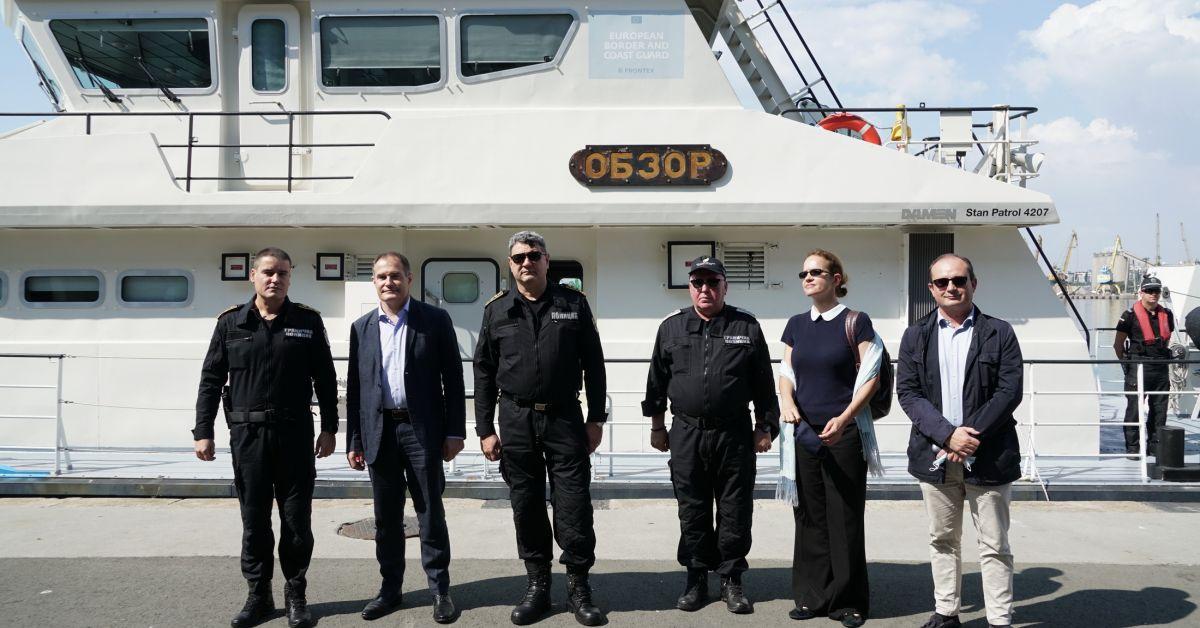 Имаме утвърдено и работещо взаимодействие с България, служители на Фронтекс