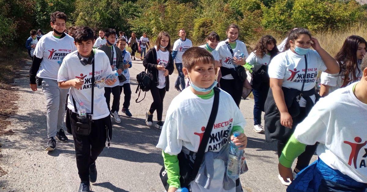 Община Каспичан ентусиазира деца и възрастни да изминат 22 кмОбщина