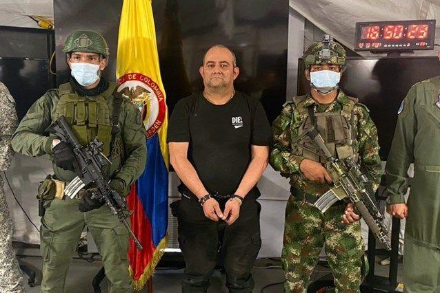 Колумбийските власти са заловили Дайро Антонио Усуга, известен като Отониел